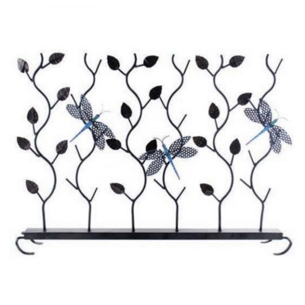 Achla Designs Dragonflies Summer Fireplace Screen