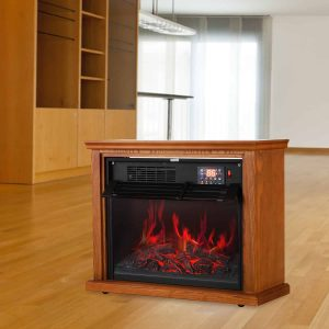 Wooden Cabinet with Medium Oak Coating 1000-1500W