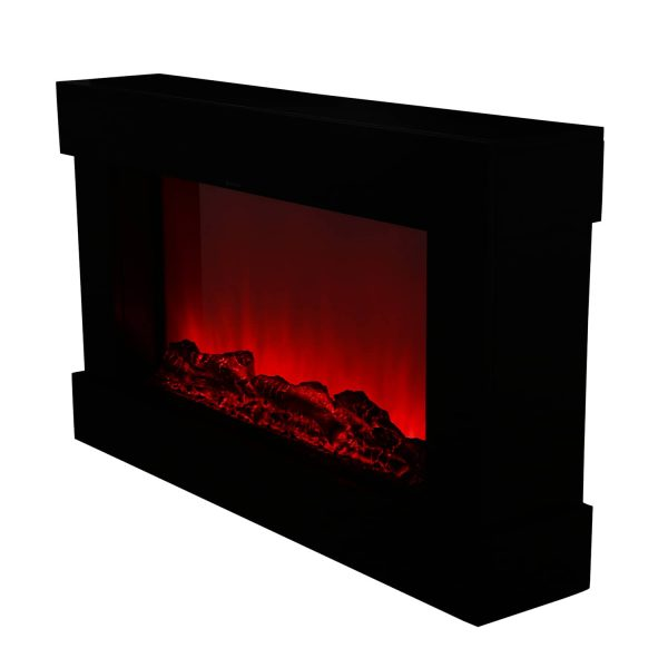 Ainfox Electric 3D Flame Fireplace Stove Infrared Heater
