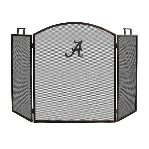 Alabama Crimson Tide Imperial Fireplace Screen - Brown