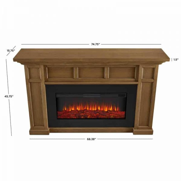 Alcott Landscape Electric Fireplace by Real Flame 12