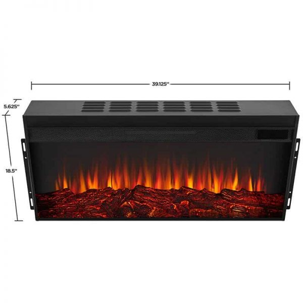 Alcott Landscape Electric Fireplace by Real Flame 16
