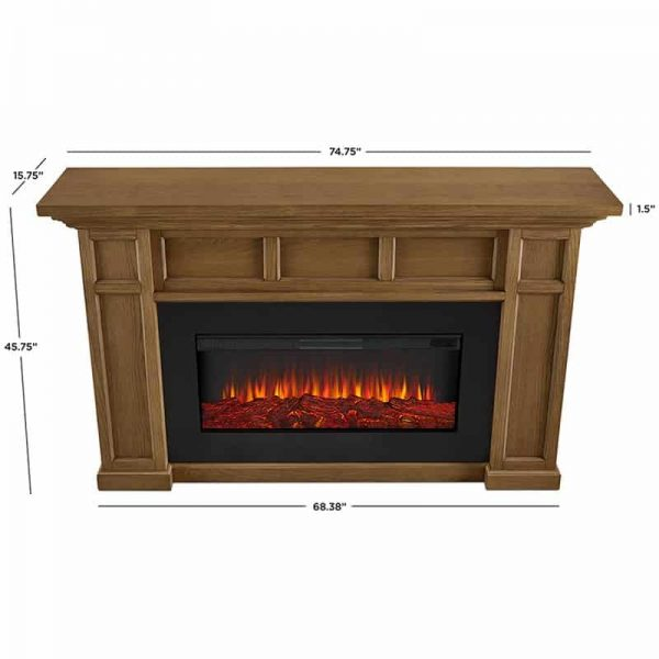 Alcott Landscape Electric Fireplace by Real Flame 17