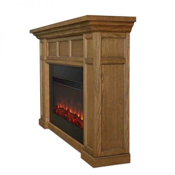 Alcott Landscape Electric Fireplace by Real Flame 19