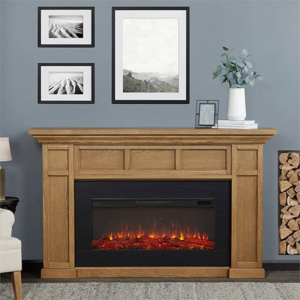 Alcott Landscape Electric Fireplace by Real Flame 2