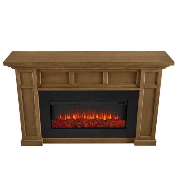 Alcott Landscape Electric Fireplace by Real Flame 20