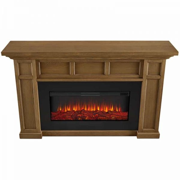 Alcott Landscape Electric Fireplace by Real Flame 3