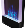 Allure 38-inch Vertical Wall Mount Electric Fireplace 8