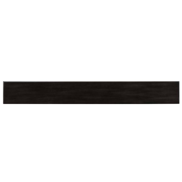Alvin Fireplace Mantel Shelf, Traditional, Smoked Ash 12
