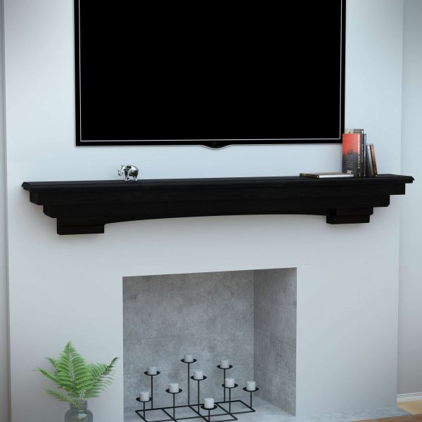 Alvin Fireplace Mantel Shelf