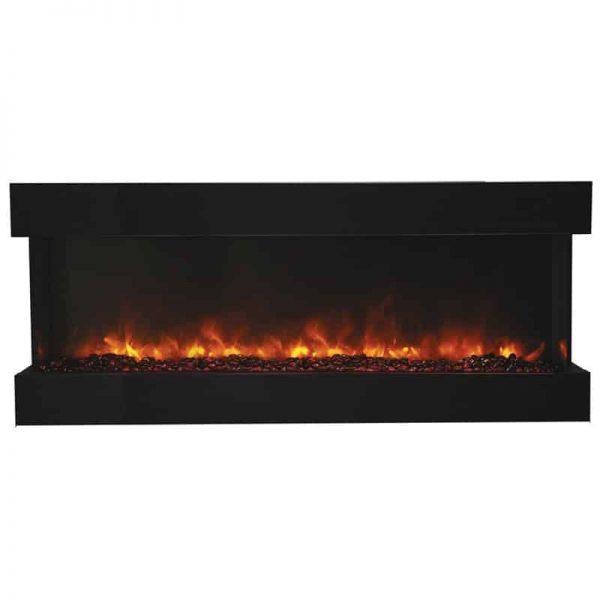 "Amantii 3 Sided 60"" Wide Electric Fireplace 2"