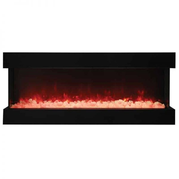 "Amantii 3 Sided 60"" Wide Electric Fireplace 3"