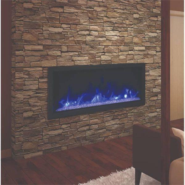 "Amantii 50"" Wide Deep Indoor or Outdoor Electric Fireplace"