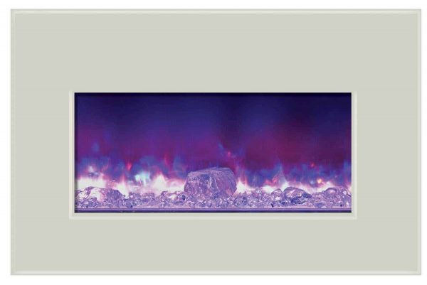 """Amantii Fire & Ice Series Built-In Insert Electric Fireplace, 30"""" 1"""