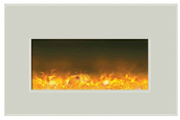 """Amantii Fire & Ice Series Built-In Insert Electric Fireplace, 30"""" 2"""