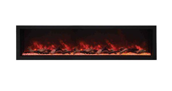Amantii Indoor/Outdoor Built-In Electric Fireplace