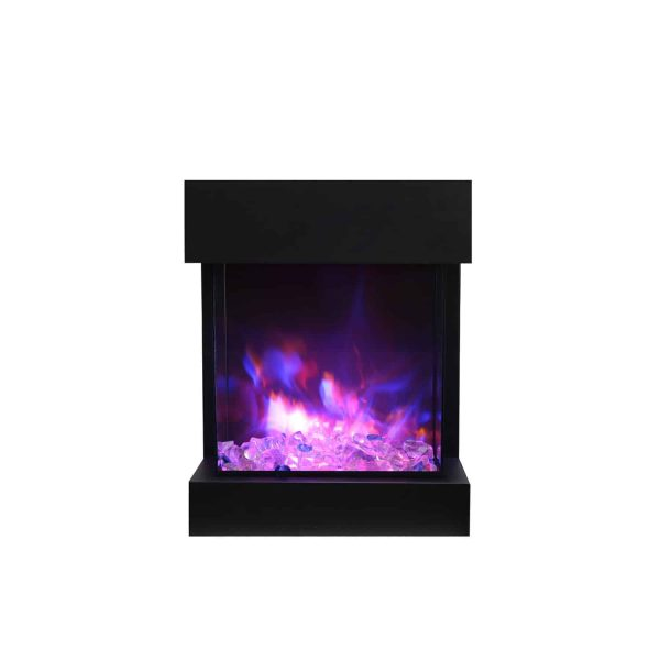 Amantii True-View 3-Sided Electric Fireplace