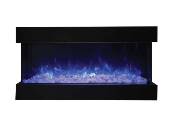 "Amantii True-View Series Indoor/Outdoor Electric Fireplace, 50"" 2"
