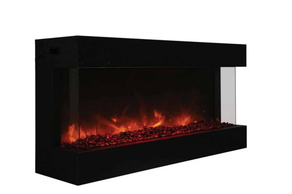 Amantii True-View Series Indoor/Outdoor Electric Fireplace
