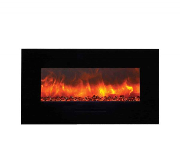 "Amantii Wall Mount / Flush Mount Series Electric Fireplace, 44"" 1"