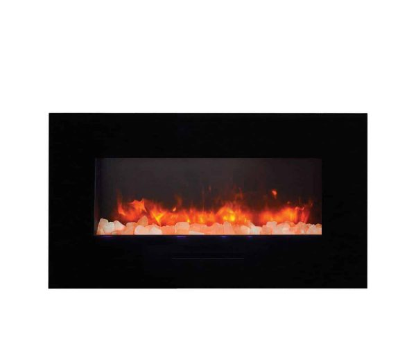 "Amantii Wall Mount / Flush Mount Series Electric Fireplace, 44"" 2"