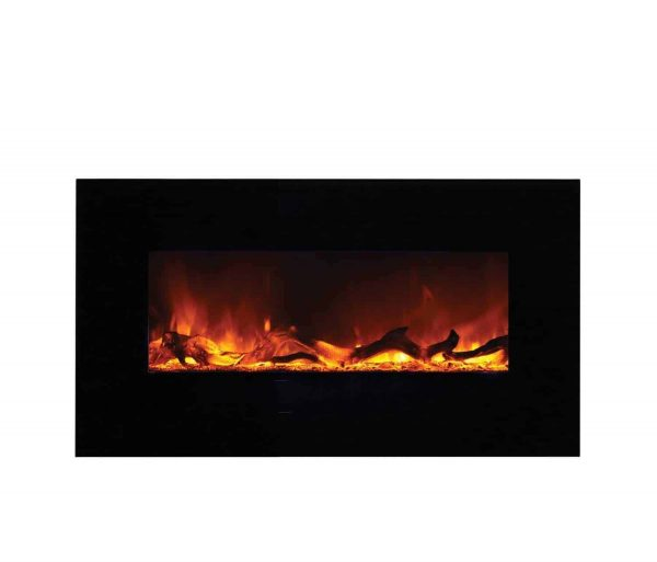 "Amantii Wall Mount / Flush Mount Series Electric Fireplace, 44"" 3"