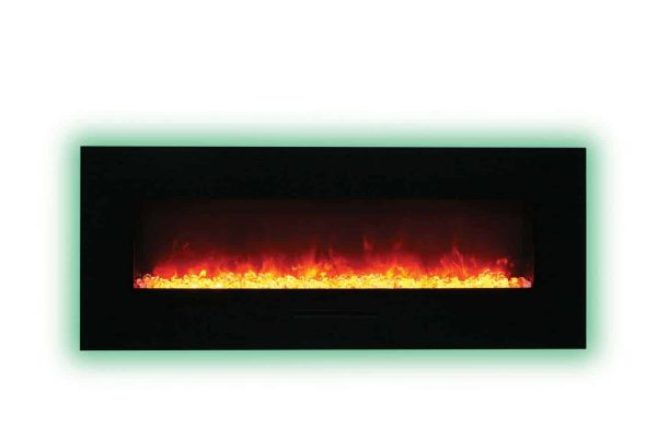 """Amantii Wall Mount / Flush Mount Series Electric Fireplace, 58"""" 1"""