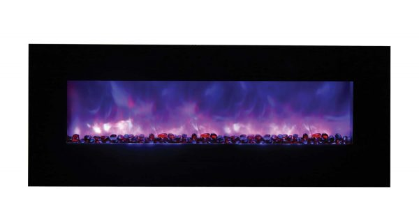 """Amantii Wall Mount / Flush Mount Series Electric Fireplace, 58"""" 3"""