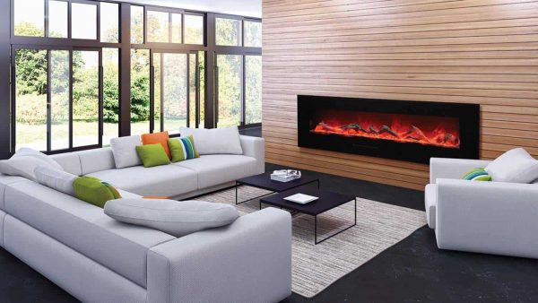 Amantii Wall Mount / Flush Mount Series Electric Fireplace