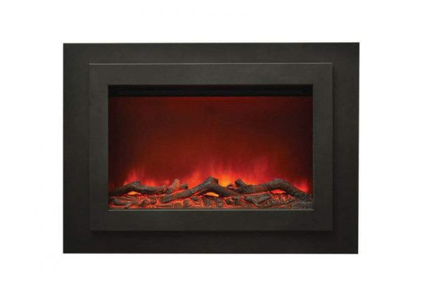 Amantii Zero Clearance Electric Fireplace with Surround