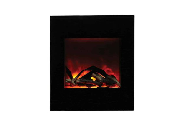 """Amantii Zero Clearance Series Built-In Electric Fireplace, 18"""" 1"""