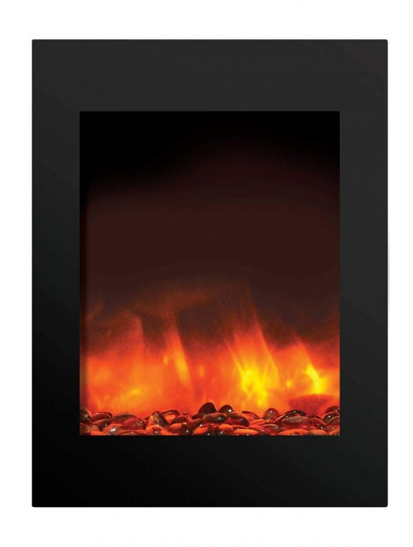"Amantii Zero Clearance Series Built-In Electric Fireplace, 25"" 2"