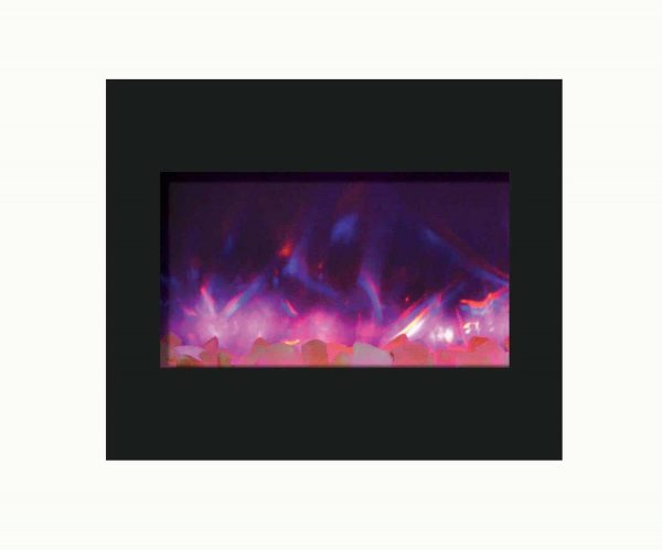 """Amantii Zero Clearance Series Built-In Electric Fireplace, 30"""" 2"""
