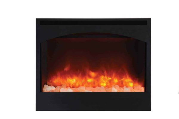 "Amantii Zero Clearance Series Built-In Electric Fireplace with Arched Frame, 31"" 3"