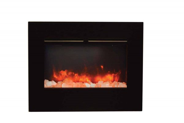 "Amantii Zero Clearance Series Built-In Flush Mount Electric Fireplace, 26"" 2"