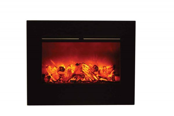 "Amantii Zero Clearance Series Built-In Flush Mount Electric Fireplace, 26"" 3"