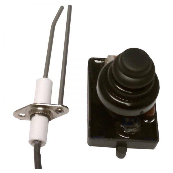 American Fireglass Push Button Spark Igniter