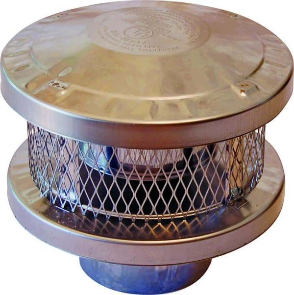 American Metal 6HS-RCS 6 In. Round Vent Cap - 3Wall