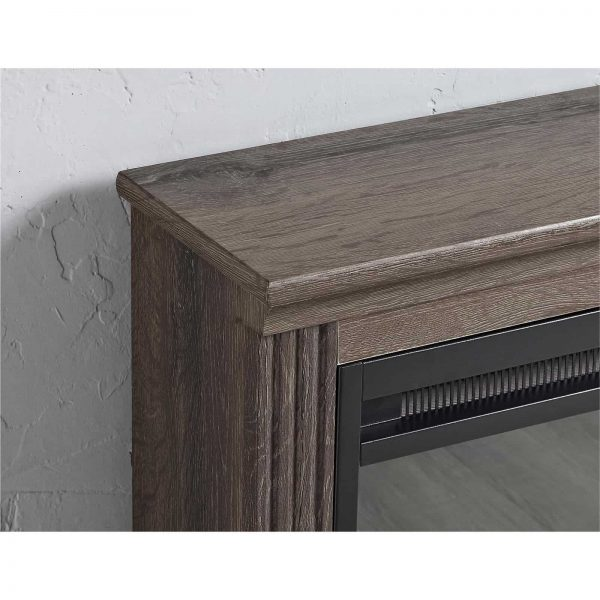 Ameriwood Home Bruxton Electric Fireplace, Multiple Colors 2