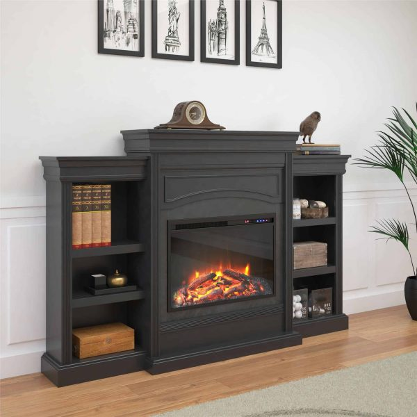 Ameriwood Home Lamont Mantel Fireplace