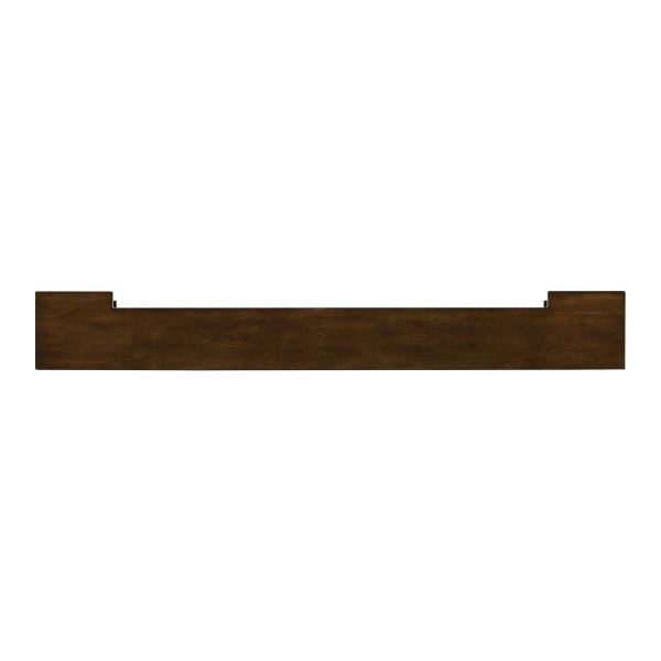 Anders Fireplace Mantel Shelf, Traditional, American Walnut 5