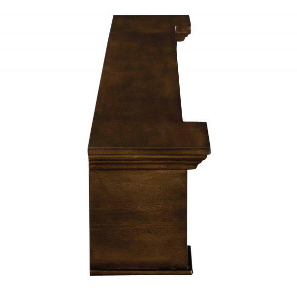 Anders Fireplace Mantel Shelf, Traditional, American Walnut 6