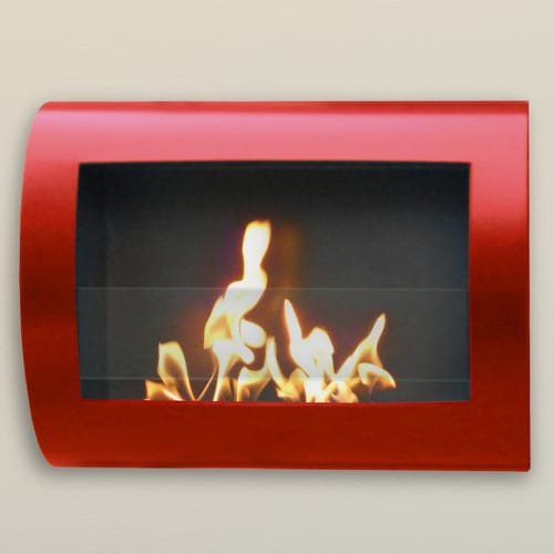 Anywhere Fireplace Chelsea Stainless Steel Indoor Fireplace 1