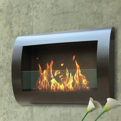 Anywhere Fireplace Chelsea Stainless Steel Indoor Fireplace 2