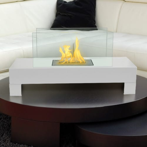 Anywhere Fireplace Gramercy Black Indoor / Outdoor Fireplace 1