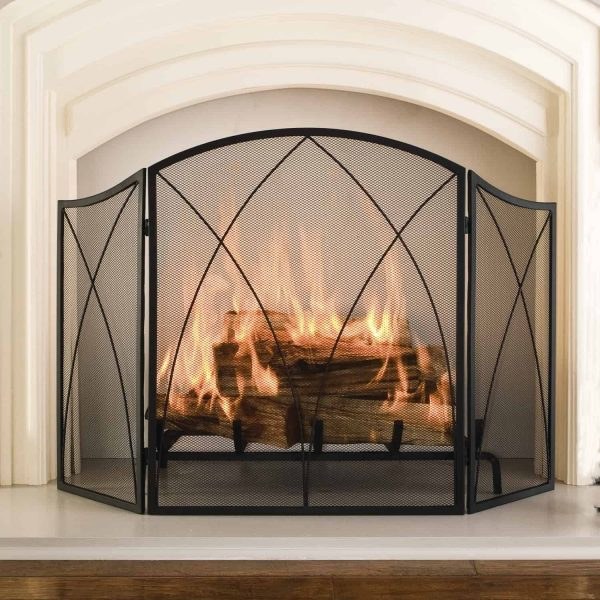 Arched Fireplace Screen 1