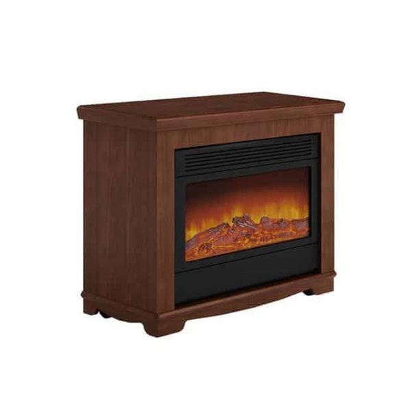 Argo L12S07 Electric Fireplace - Brown