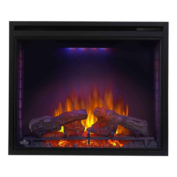 Ascent 33 9000 BTU Home Living Room Built In Electric Fireplace Insert Heater 2