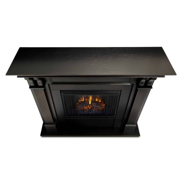 Ashley Indoor Electric Fireplace in Black Wash by Real Flame 3