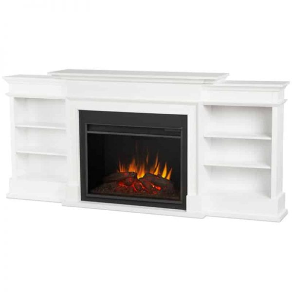 Ashton Grand Media Electric Fireplace by Real Flame 2